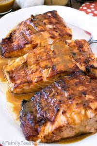 Asian Grilled Salmon