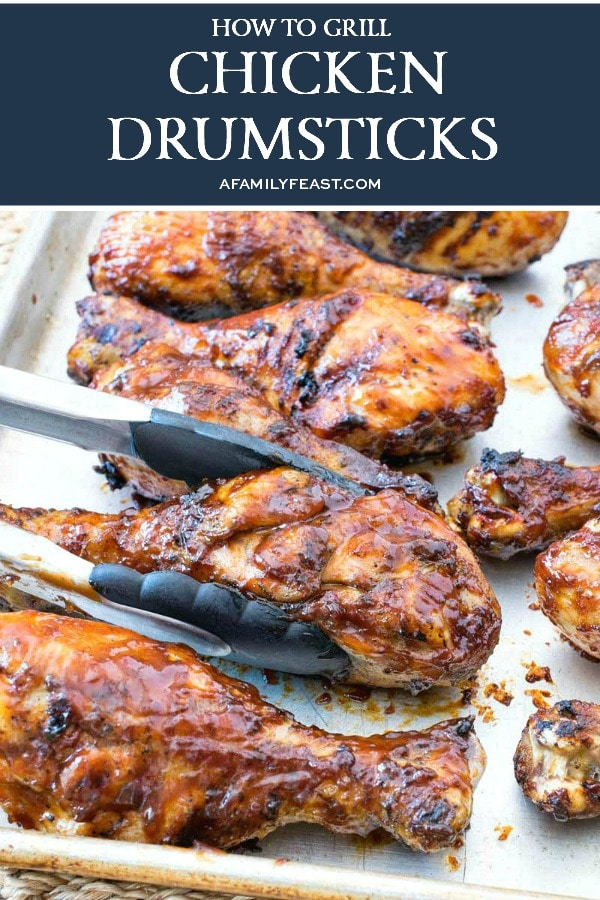 How to Grill Chicken Drumsticks