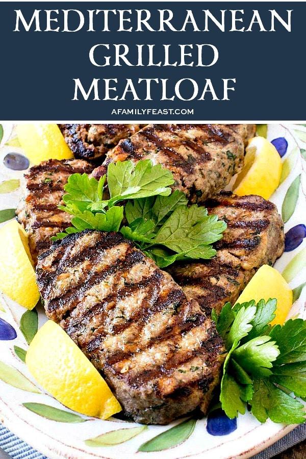 Mediterranean Grilled Meatloaf