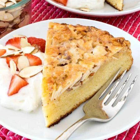 Swedish Tosca Cake