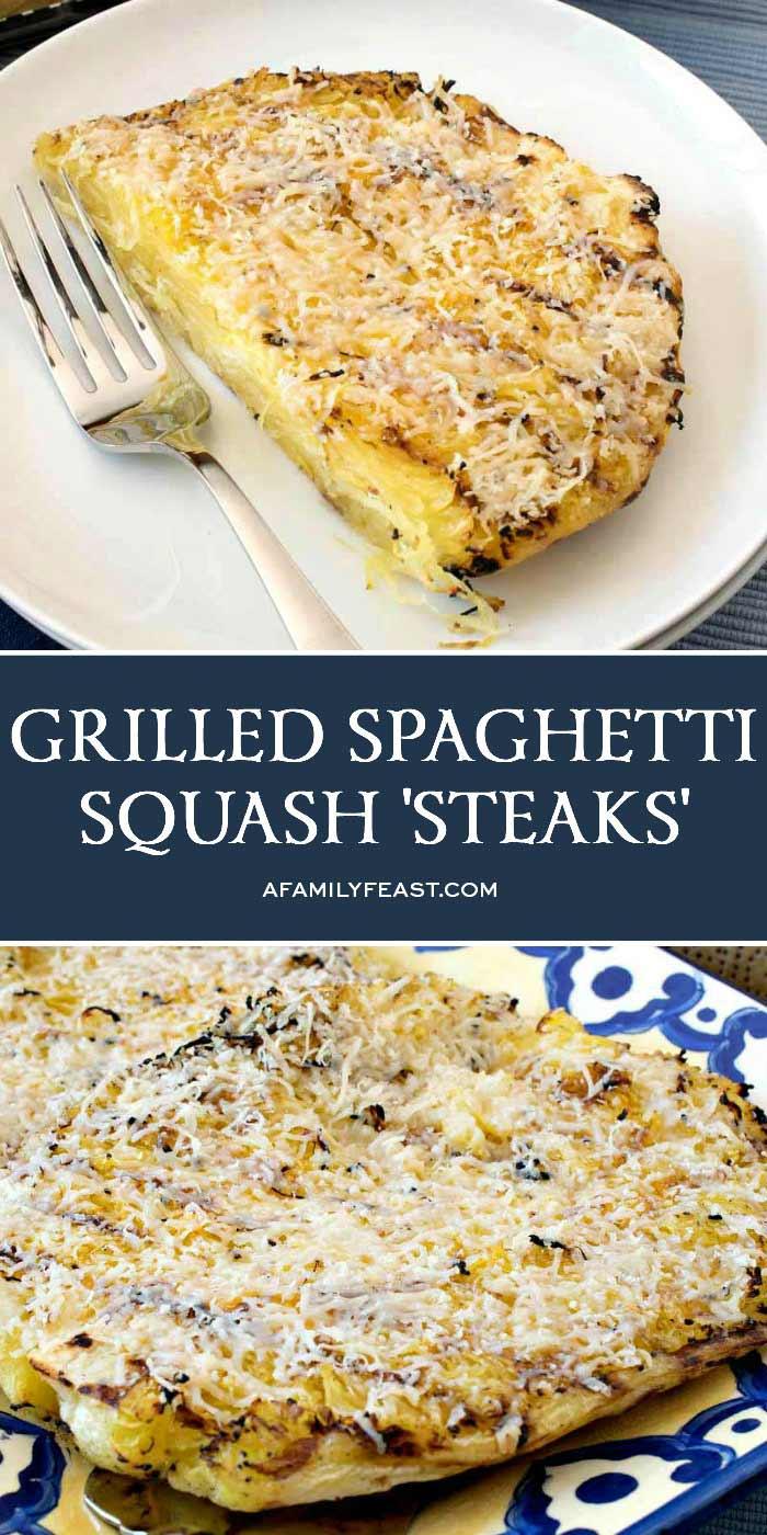 Grilled Spaghetti Squash Steaks