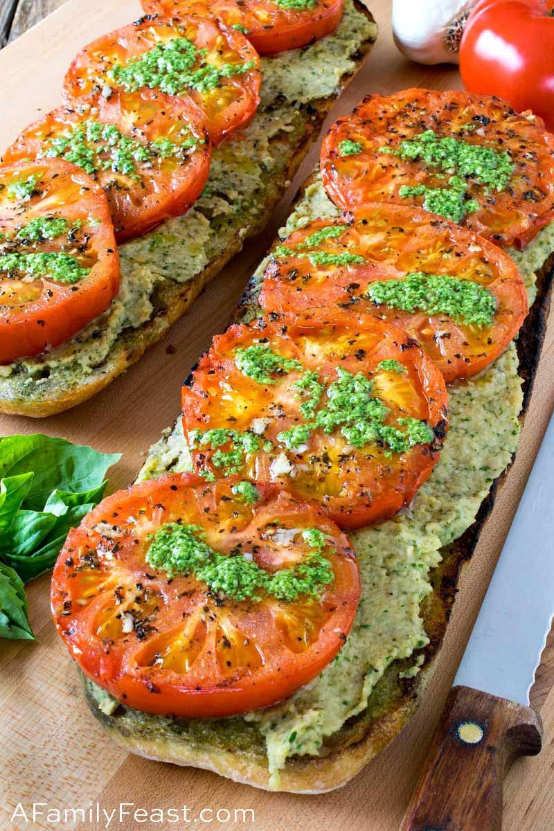 Grilled Tomato Ciabatta
