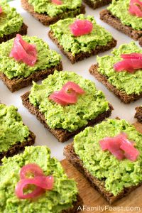 Minted Green Pea Puree