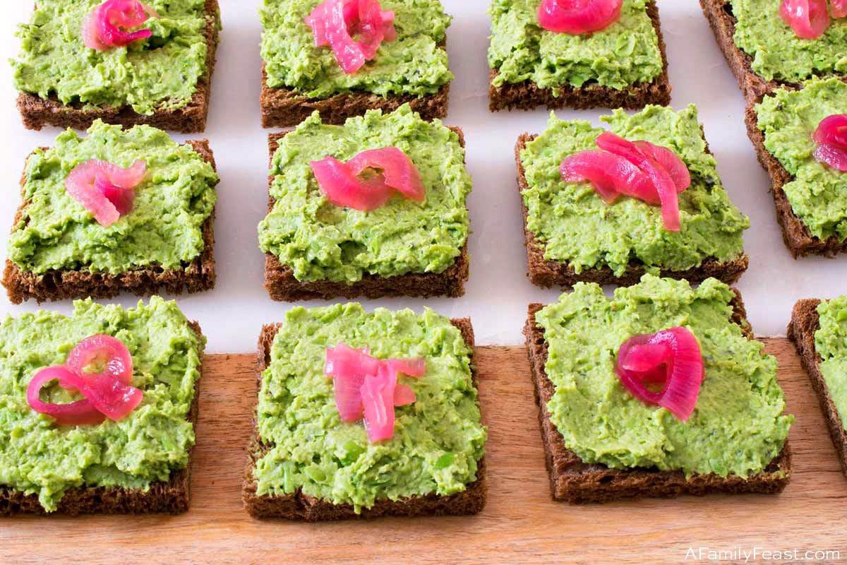 Minted Green Pea Puree