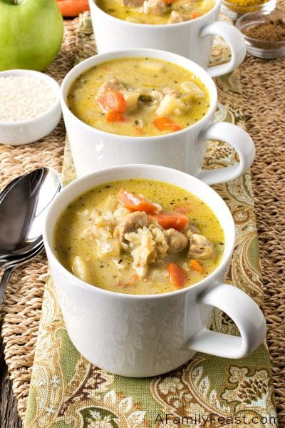 Chicken Mulligatawny Soup