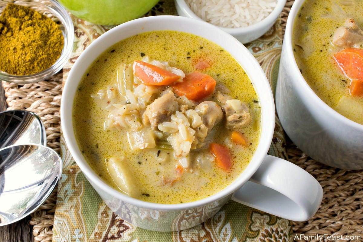 Chicken Mulligatawny Soup A Family Feast
