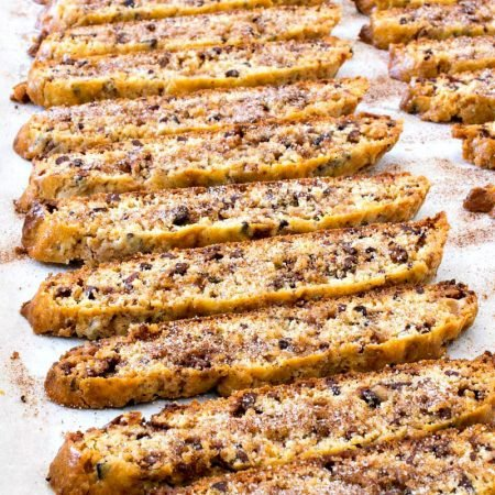 Chocolate Toffee Biscotti