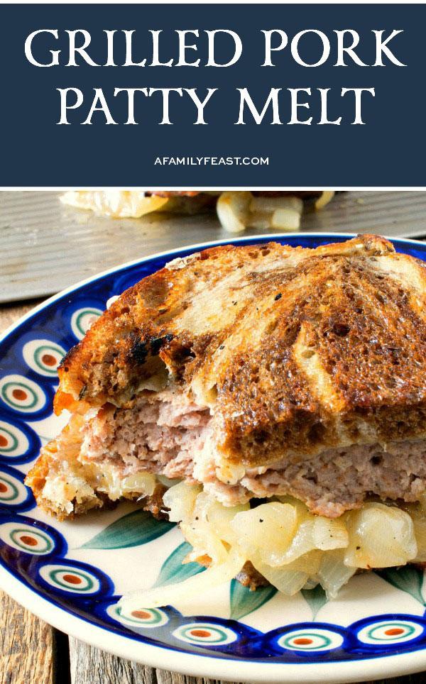 Grilled Pork Patty Melt