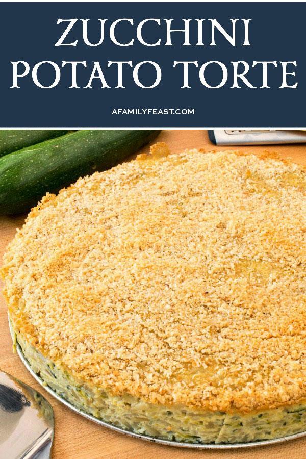 Zucchini Potato Torte
