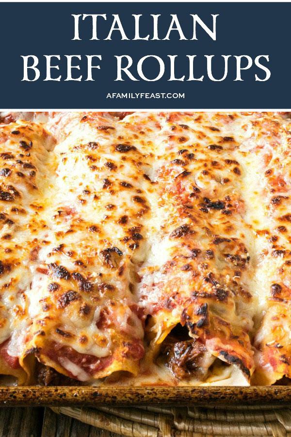 Italian Beef Rollups