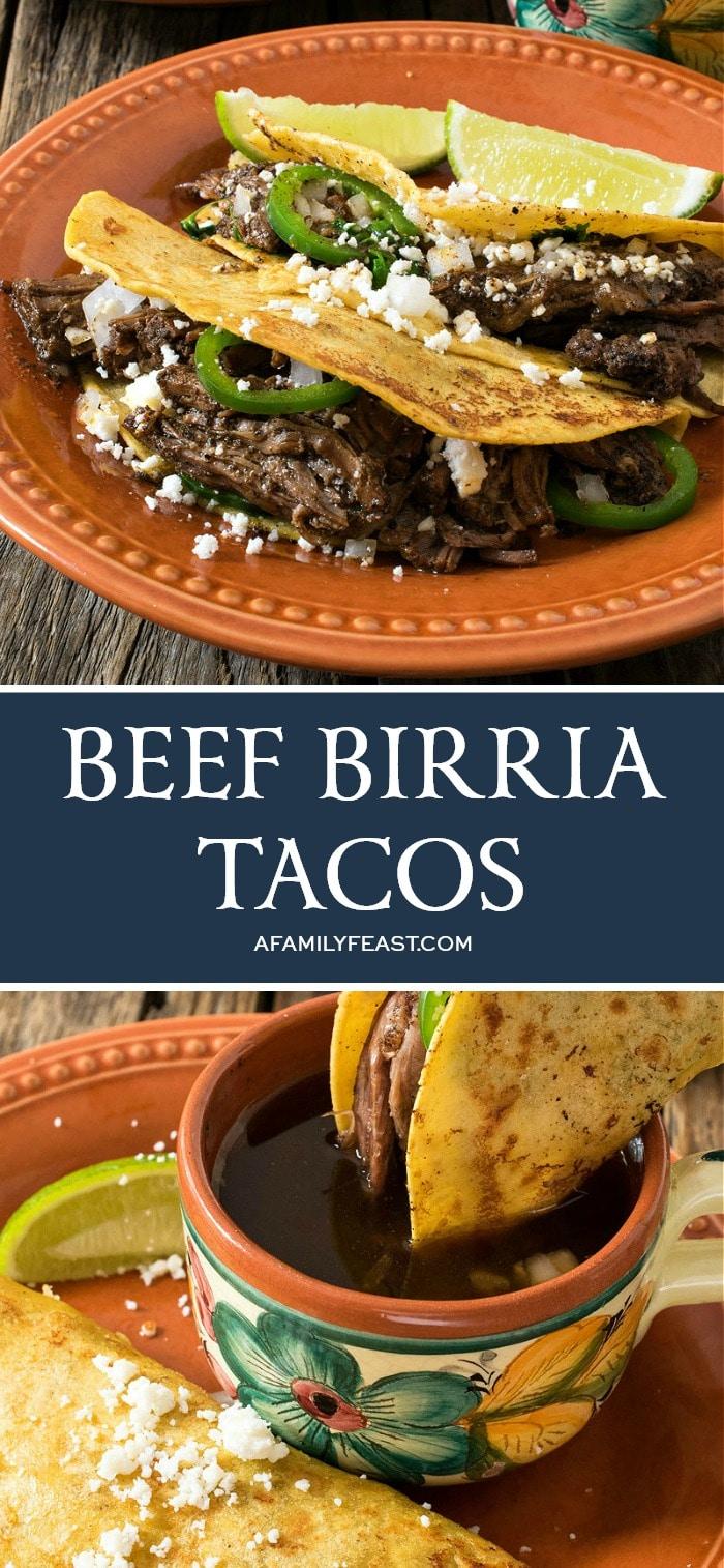 Beef Birria Tacos