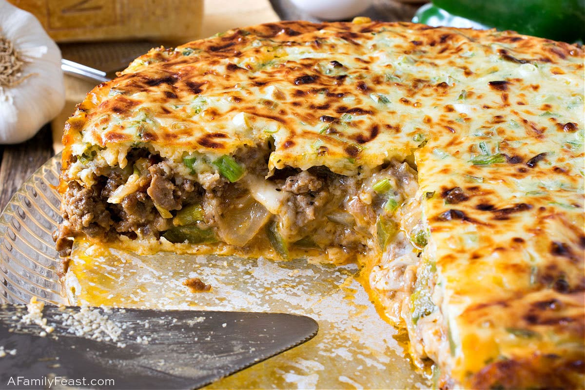 Italian Beef and Sausage Pie