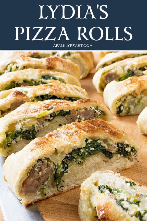Lidia's Pizza Rolls