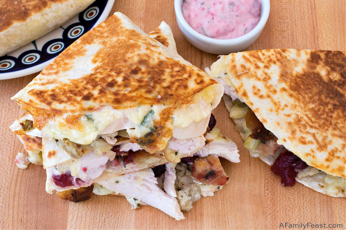 Thanksgiving Quesadillas