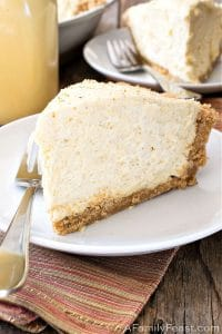 No-Bake Eggnog Cream Pie