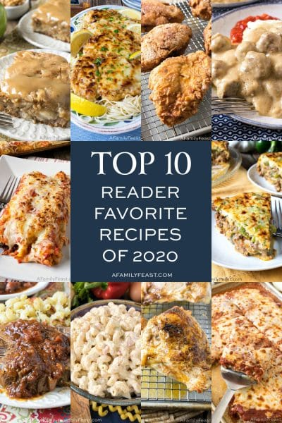 A Family Feast: Top 10 Recipes of 2020