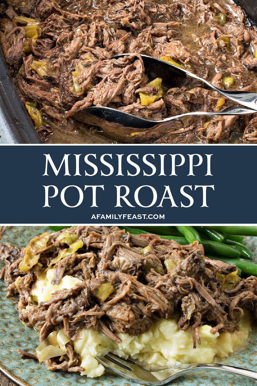 Rôti de pot du Mississippi