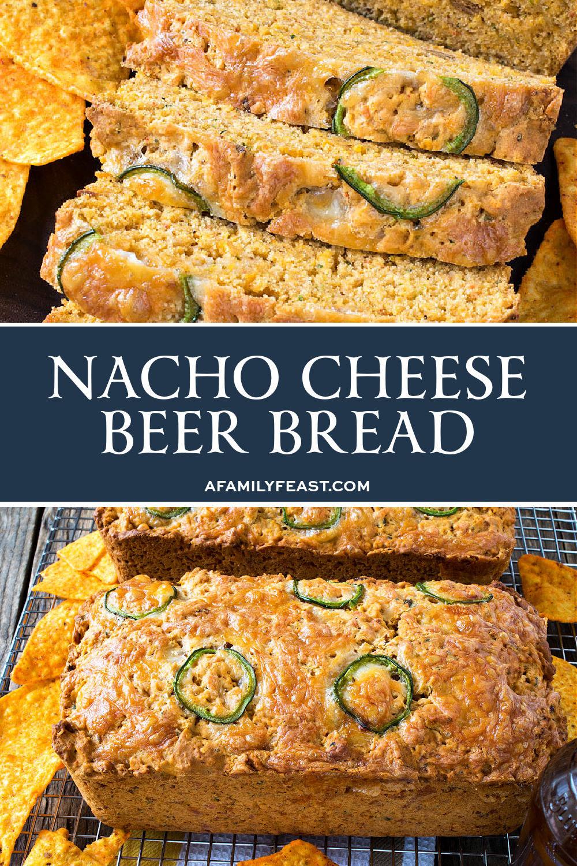 Nacho Cheese Beer Bread