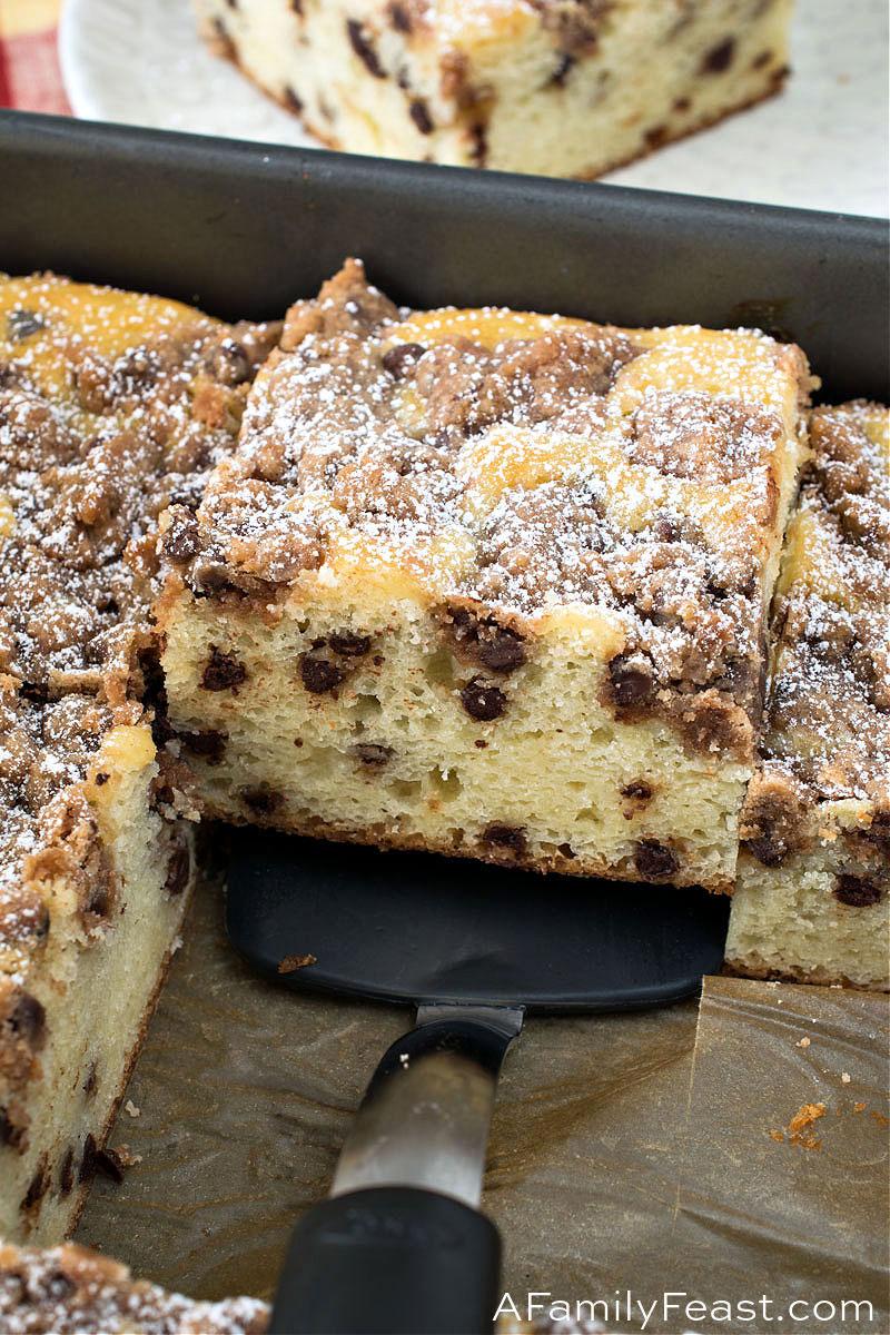 Chocolate Chip Crumb Cake