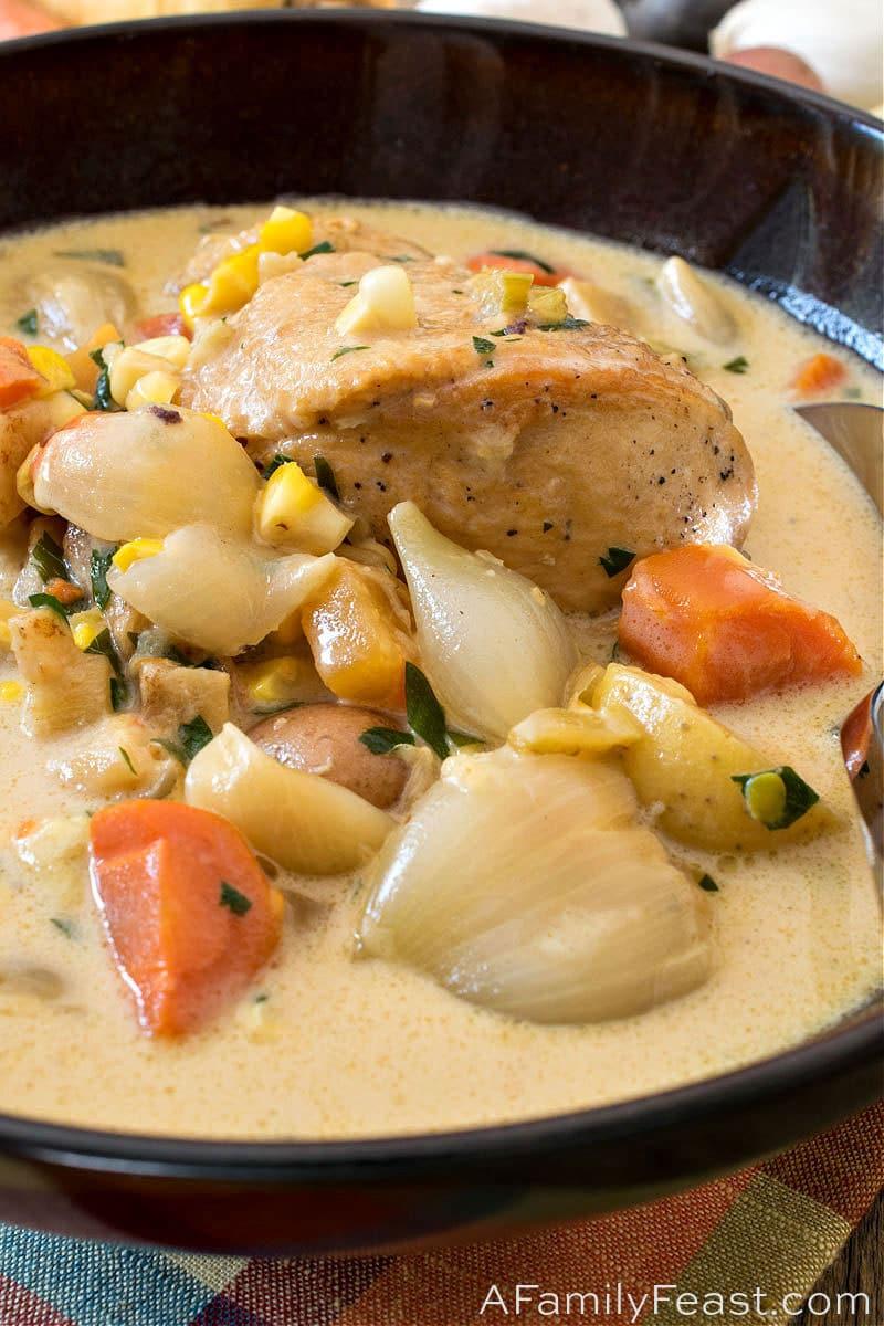 Farmer's Chicken Stew