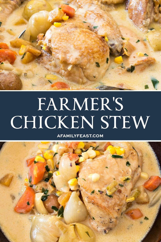 Ragoût de poulet fermier
