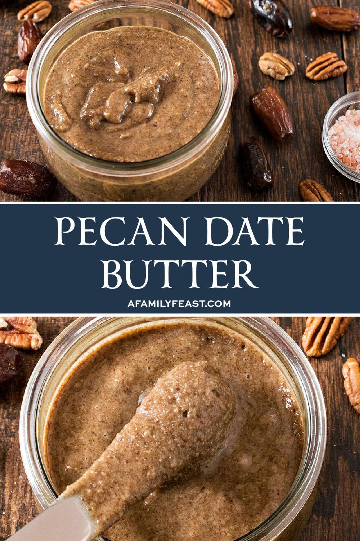 Pecan Date Butter