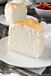Angel Food Cake - A Family Feast