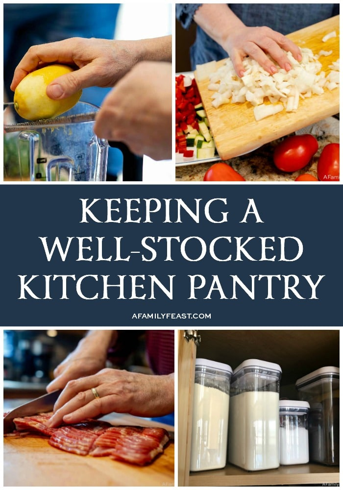 Keeping a Well-Stocked Kitchen Pantry