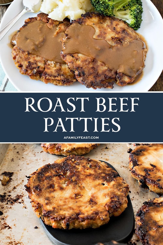 Roast Beef Patties