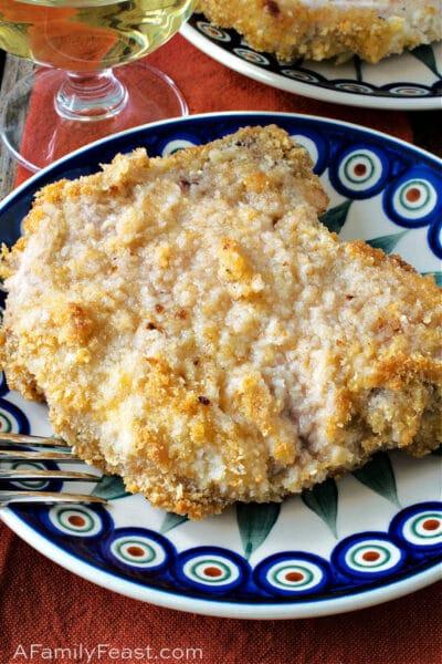 Easy Crumb-Coated Baked Pork Chops