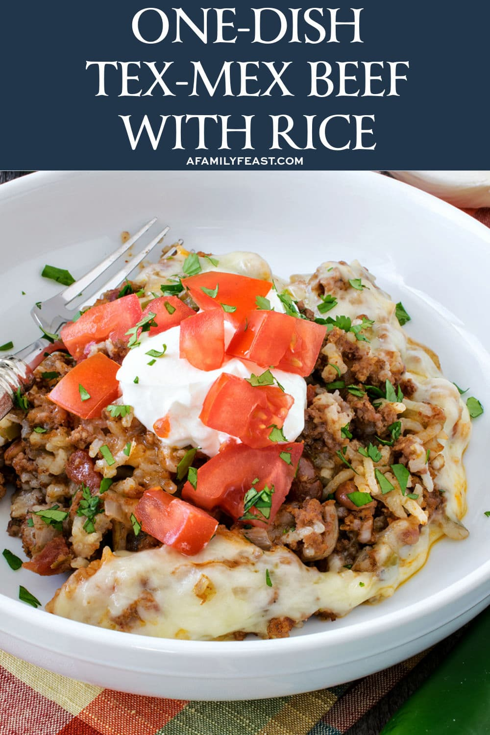 Easy One-Dish Tex-Mex Beef with Rice