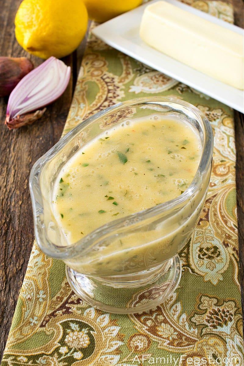 Lemon Butter Sauce