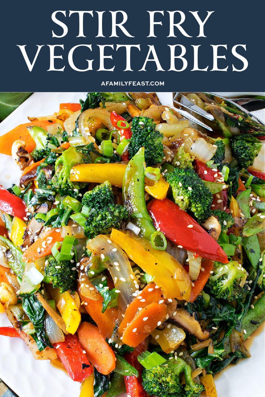 Stir Fry Vegetables