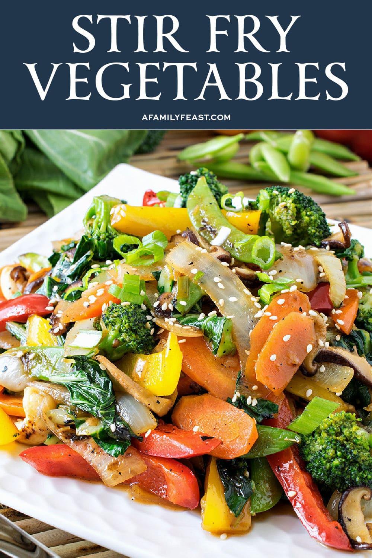 Stir Fry Vegetables - A Family Feast