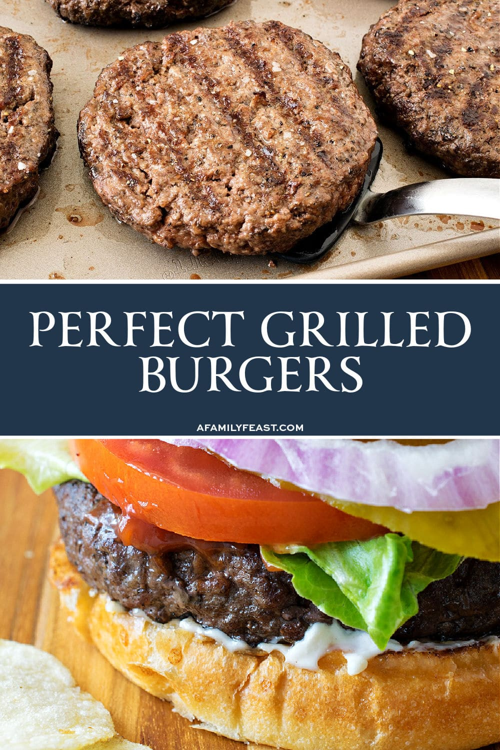 Perfect Grilled Burgers