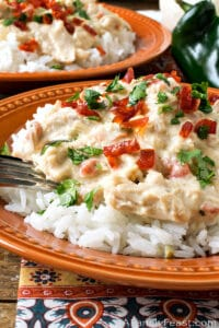 Slow Cooker Mexican Crack Chicken