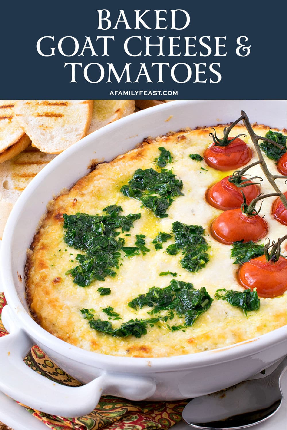 Baked Goat Cheese & Tomatoes