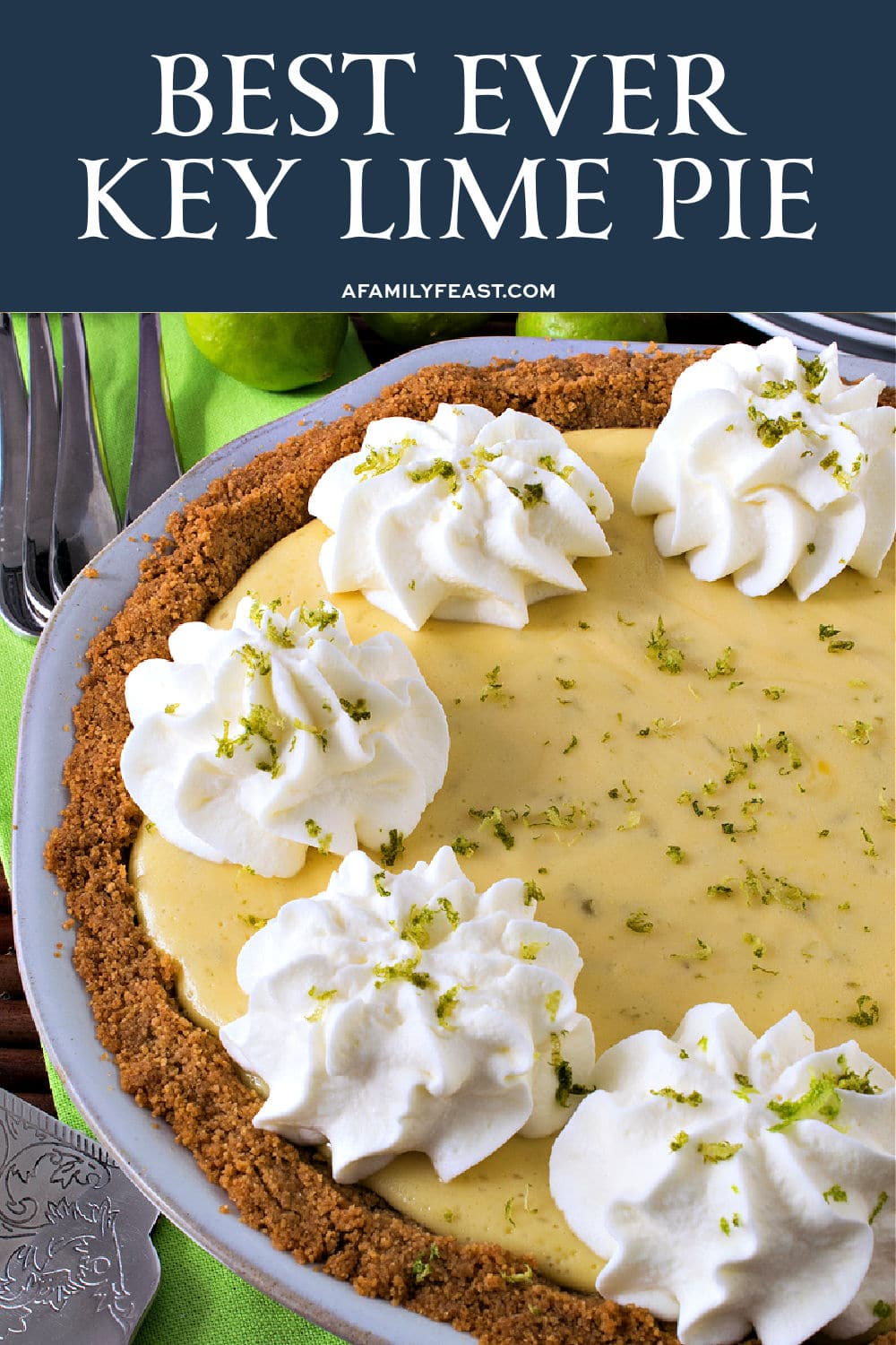 Best Ever Key Lime Pie