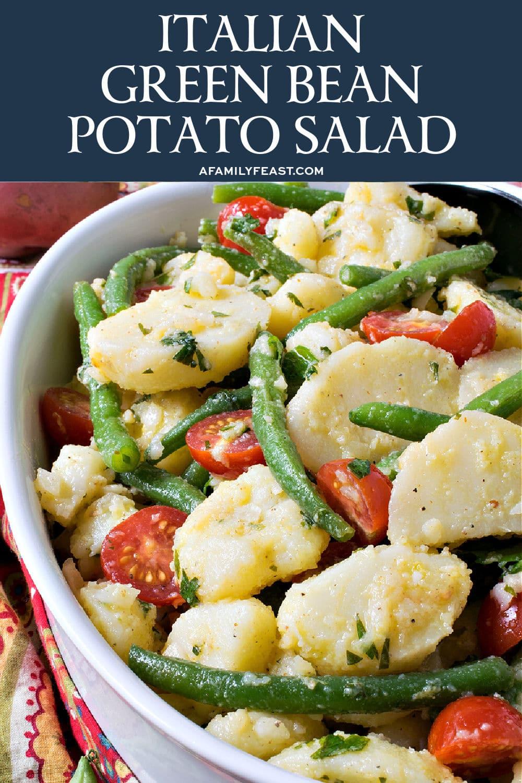 Italian Green Bean Potato Salad