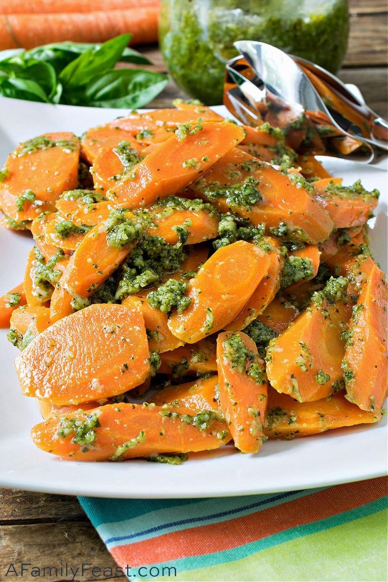 Pesto Carrots