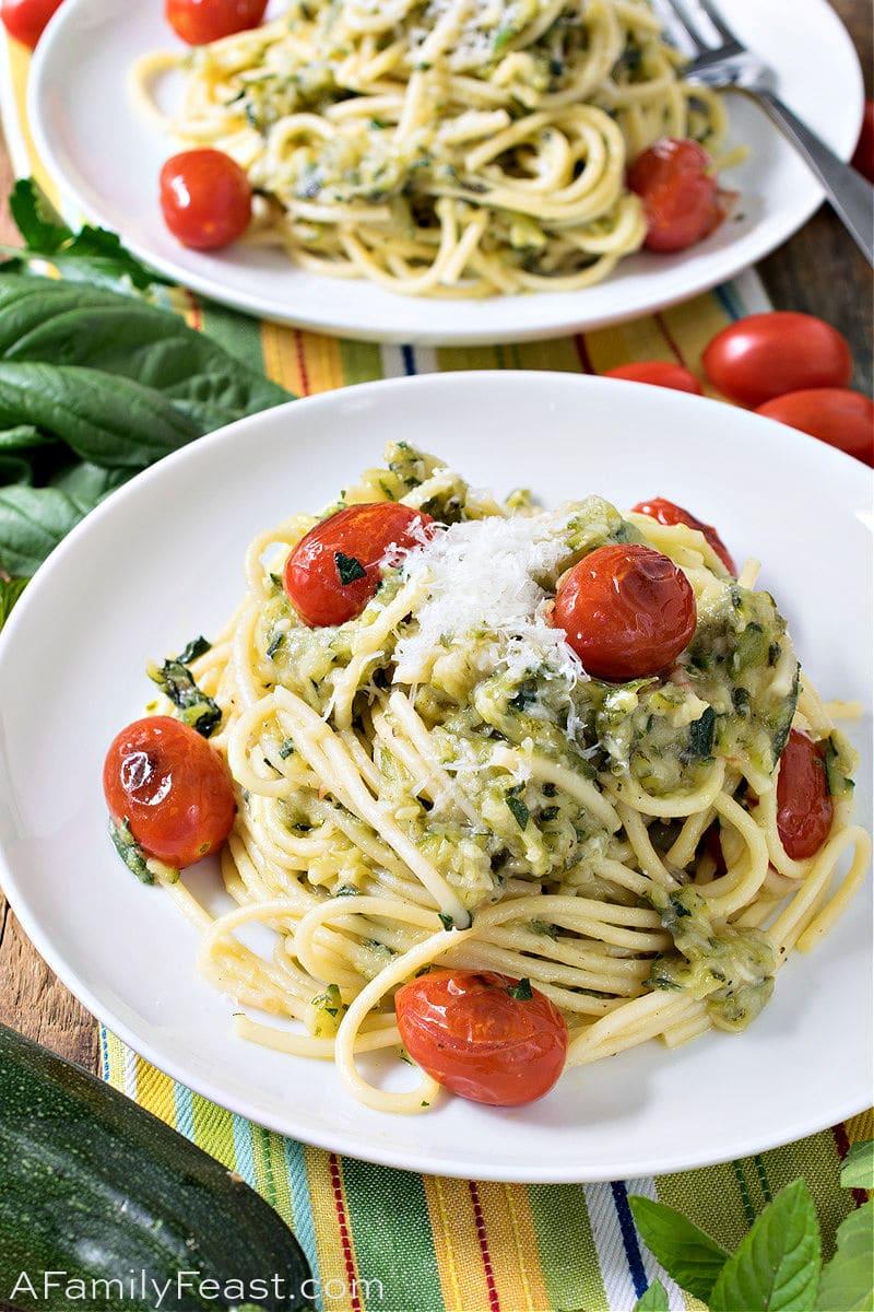Caramelized Zucchini Pasta