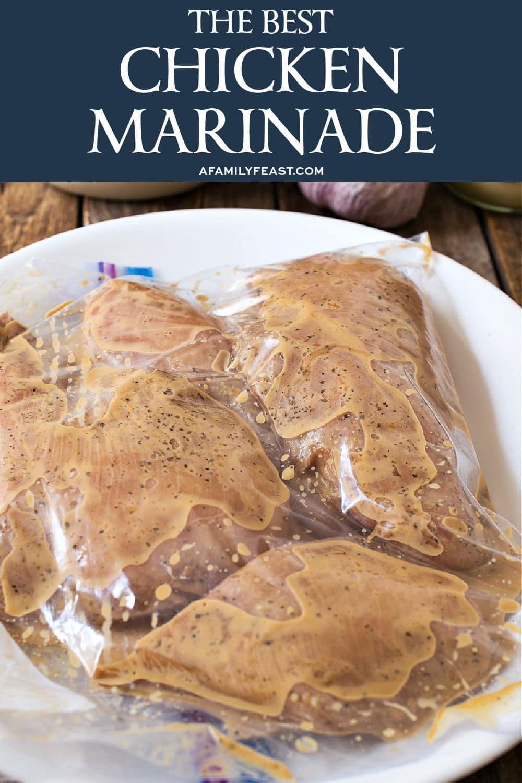 The Best Chicken Marinade
