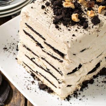 Coffee Icebox Cake