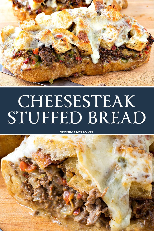 Cheesesteak Stuffed Bread