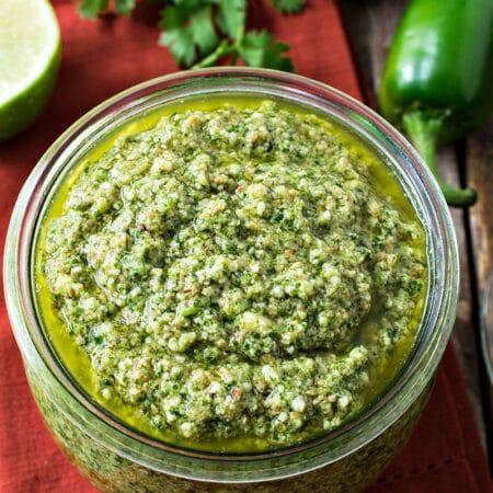 Mexican Pesto (Cilantro Pesto)